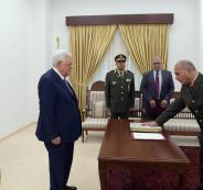 العميد عبد الناصر جرار يؤدي اليمين القانونية