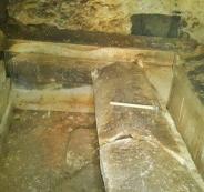 اكتشاف مقبرة بيزنطية في نابلس
