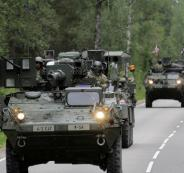 اوروبا والجيش الامريكي