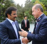 امير قطر يلتقي بأردوغان في تركيا