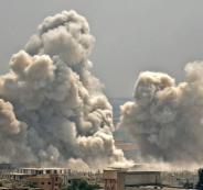 قصف يستهدف أدلب