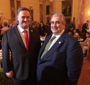 وزير الخارجية البحريني واسرائيل