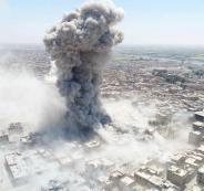 الدمار في الرقة السورية