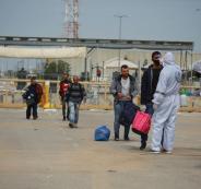 العمال الفلسطينيين وجنين