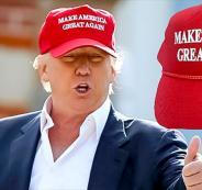 قبعات ترامب