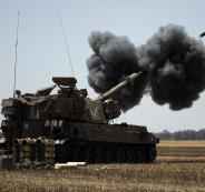 مدفعية جيش الاحتلال تستهدف موقعاً للجيش السوري في منطقة القنيطرة