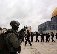 اقتحام الاحتلال للمسجد الأقصى والقدس
