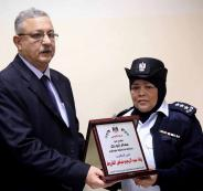 تكريم ضباط شرطة في طولكرم