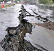 زلزال يضرب الاردن وفلسطين