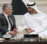 محمد بن زايد والملك عبد الله