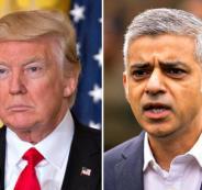 ترامب وعمدة لندن