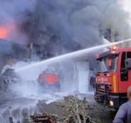 مصرع عائلة فلسطينية كاملة في حريق بلبنان
