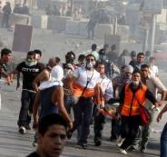 إصابات بمواجهات مع الاحتلال شمال البيرة