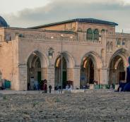 الصلاة داخل المسجد الاقصى