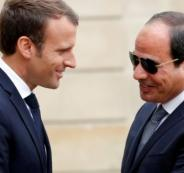 الرئيس الفرنسي وحقوق الانسان في مصر