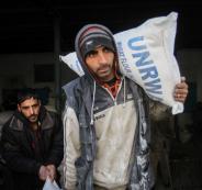 مساعدات للمواطنين في غزة