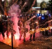 اميركا والاحتجاجات