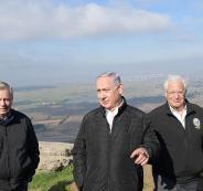 اجتماع الحكومة  الاسرائيلية في الجولان
