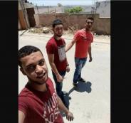 جثامين شهداء دير ابو مشعل