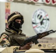 مقتل ارهابيين في سيناء