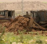 جرافات اسرائيلية تتوغل في غزة