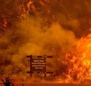 حرائق في كاليقورنيا