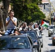 فض احتفالات ثانوية عامة في نابلس