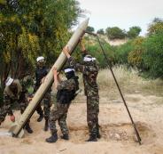 المقاومة تقصف مستوطنات غزة