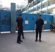 العثور على صاروخ اسرائيلي داخل مدرسة في غزة