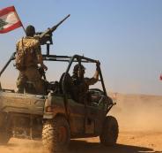الجيش اللبناني يسقط طائرة اسرائيلية