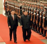 الزعيم الكوري الشمالية والصين