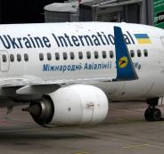 كارثة الطائرة الاوكرانية