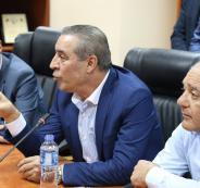 حسين الشيخ والمنسق