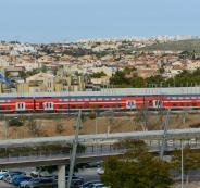 قطار يربط إسرائيل بالمستوطنات