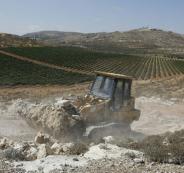 انشاء مستوطنة شمال رام الله
