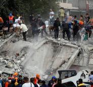 ارتفاع عدد ضحايا الزلزال في المكسيك إلى 226 شخصا