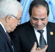 عباس والسيسي في مصر