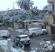 ثلوج بغداد