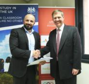 ايباك والقنصل البريطاني في القدس