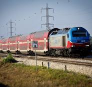 اسرائيل تستأنف حركة القطارات