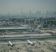 اكبر مطار في العالم في دبي