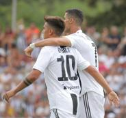رونالدو يسجل هدفا مع يوفنتوس