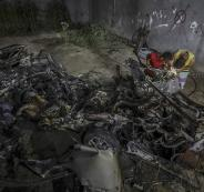 الاحتلال يعلن قصف سيارة أحد مطلقي الطائرات الورقية شرق غزة