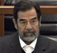 رايس وصدام حسين
