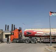 شاحنات غاز تدخل قطاع غزة