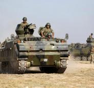 نشر قوات تركية في ادلب