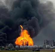 انفجار في مدينة امريكية