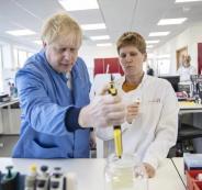 شركة ادوية بريطانية ولقاح كورونا