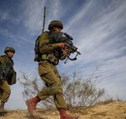تدريبات للجيش الاسرائيلي في جنين