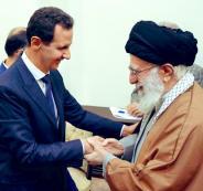 بشار الاسد وخامنئي في ايران